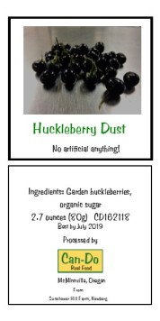 Huckleberry Dust